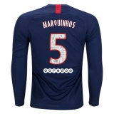 Home LS Jersey FC PSG 19/20 Marquinhos