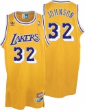 Magic Johnson home jersey (swingman)