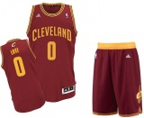 Kevin Love Cavaliers road jersey + shorts (swingman)