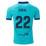 Third Authentic Jersey FC Barcelona 19/20 Vidal