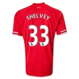 Home Jersey FC Liverpool 13/14 Shelvey