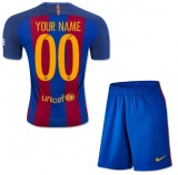 KIDS Home Jersey FC Barcelona 16/17 YOUR NAME