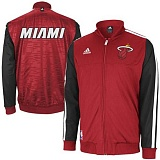 Adidas Miami Heat Home Weekend Warm-Up Jacket