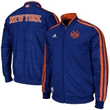 New York Knicks  Full Zip Track Jacket - Royal Blue