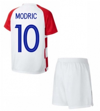KIDS Home Jersey Croatia 2018 Modric